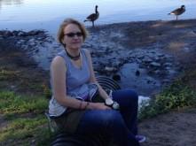 At Saddle River Park (L.E. Swenson)