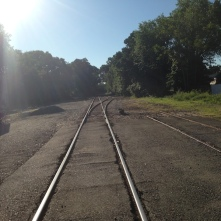 Train Tracks, Rochelle Park (L.E. Swenson)