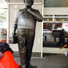 Ralph Kramden Outside Port Authority (Erica Herd)