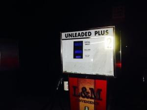 gas pump in NC