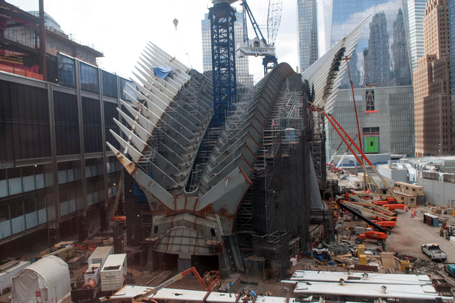 World Trade Center Transportation Hub A Greed Odyssey